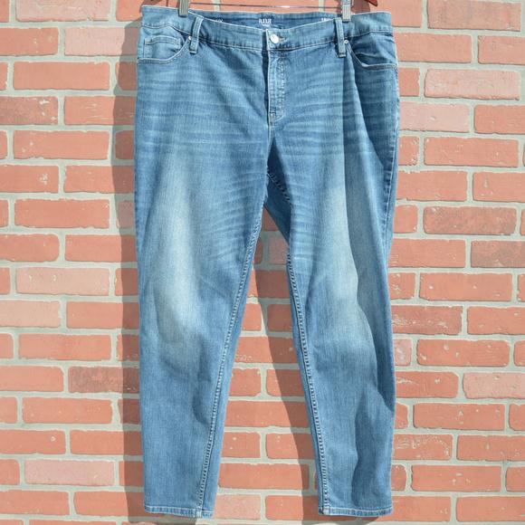 a.n.a Denim - a.n.a plus size skinny denim jeans size 18w